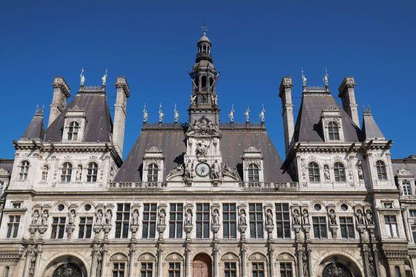 L'hôtel de ville de Paris, en juin 2020 (illustration).