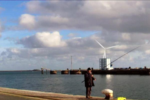 L'éolienne la plus grande du monde pourrait être testée à partir de 2019 sur le port de commerce de Cherbourg.