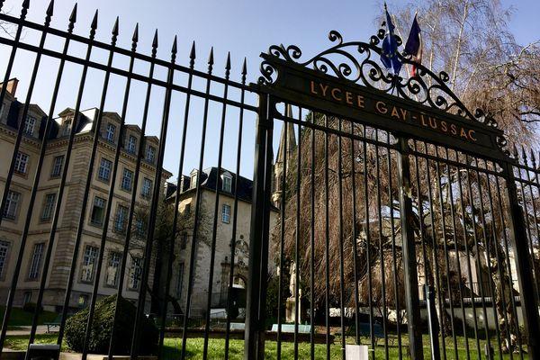 Internat fermé au lycée Gay Lussac pour cause de cas de covid ce dimanche 28 mars 2021