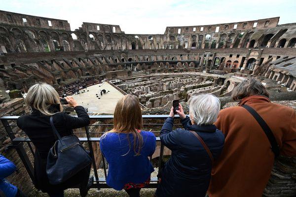 A Rome, le Colisée a rouvert au public ce 1er février