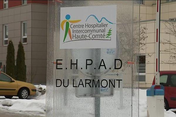 L'EHPAD du Larmont  appartient au centre hospitalier intercommunal de Pontarlier