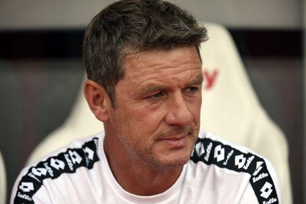 Stéphane Jobard, entraîneur du Dijon FCO, club de football de Ligue 1