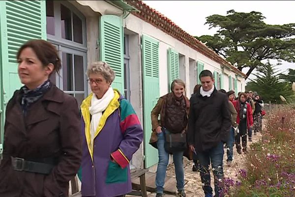 Visite de la maison du tigre, en Vendée, où à notamment vécu George Clémenceau