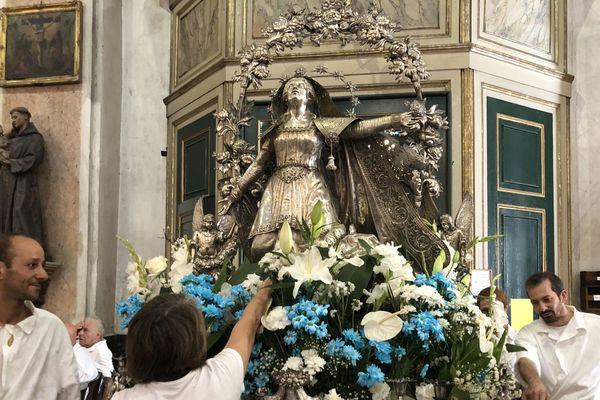 A Santa-Maria, comme ailleurs dans l'île, il va falloir s'adapter aux conditions sanitaires pour célébrer Marie