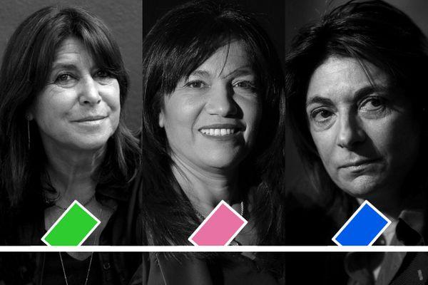Municipales à Marseille: un duel Michèle Rubirola/Martine Vassal arbitré par Samia Ghali