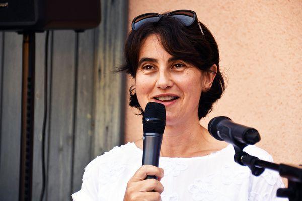 Sophie Pantel (DVG) présidente du département de la Lozère.