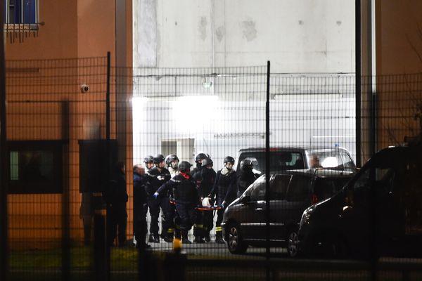 Michael Chiolo est pris en charge par les urgences après l'attaque au couteau, le 5 mars 2019.