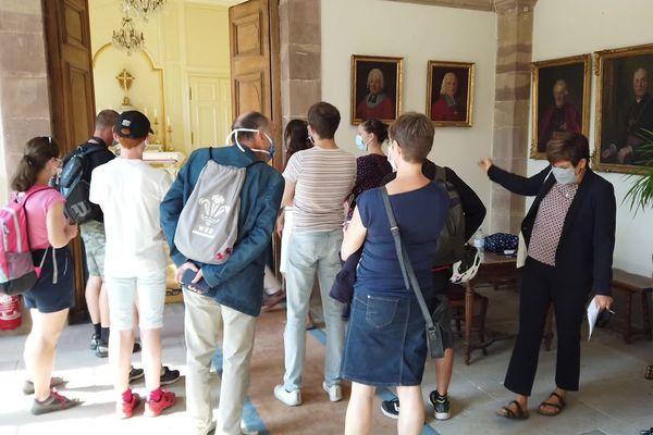 Visite masquée au palais épiscopal à Strasbourg