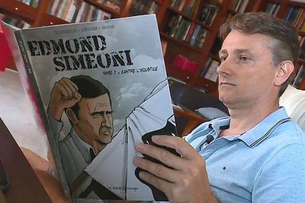 Frédéric Bertocchini, scénariste de Edmond Simeoni : Contre l'injustice