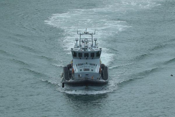 Un navire de la Border Force britannique à Douvres (archive).
