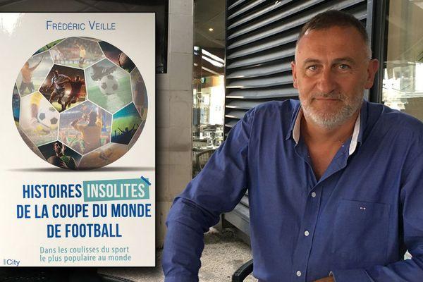 19 juin 2018- Frédéric Veille et la couverture de son dernier livre