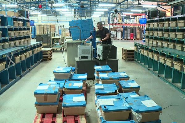 Le site FIBSHOP s'appuie sur un réseau logistique déjà existant. Ainsi, les commandes des clients sont livrés dans des bureaux de tabac, en même temps que la presse. 360 points de vente sont ainsi approvisionnés tous les jours en Côte-d'Or et en Saône-et-Loire.