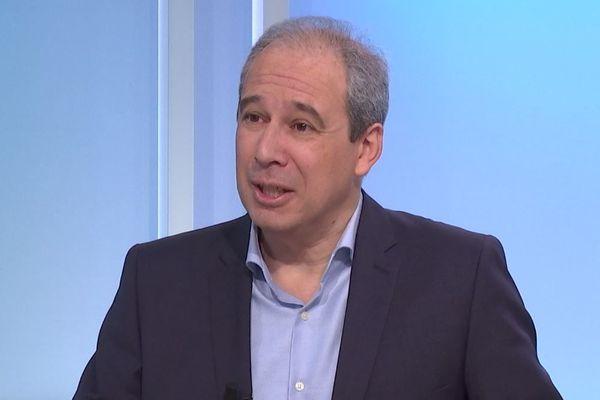 Jean Zuccarelli, tête de liste de Choisir Bastia - A scelta di Bastia, candidat aux municipales