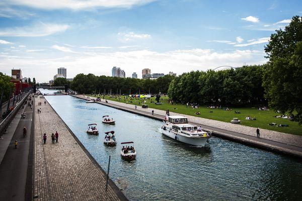 Un homme est décédé sur le canal de l'Ourcq après avoir chuté de son matelas pneumatique. (Photo d'illustration)