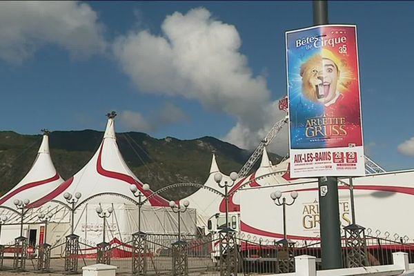 Le cirque Gruss jouera son nouveau spectacle de jeudi 26 à dimanche 29 septembre 2019 à Aix-les-Bains (Savoie), avant de partir en tournée dans 27 villes.