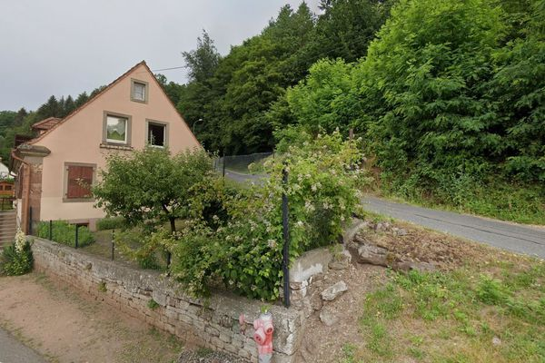 L'accident a eu lieu dans l'Alsace bossue.