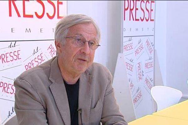 Jean-Pierre Masseret au Club de la Presse de Metz, vendredi 16 septembre 2016.