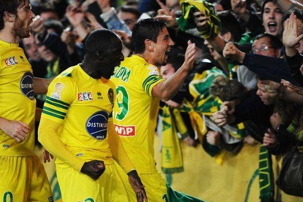 Bedoya l'ovation à la Beaujoire face à Lorient en 16ème de finale de Coupe de la Ligue face à Lorient.