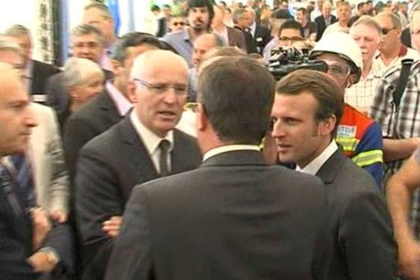Emmanuel Macron à Saint-Jean de Maurienne