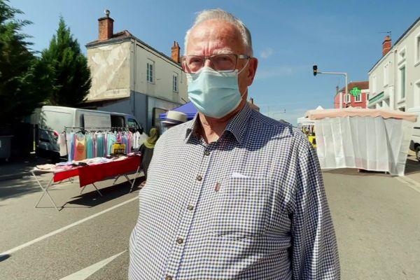 André Billardon, ancien maire du Creusot
