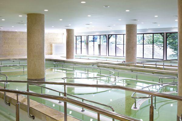 Gers - Les bains de Barbotan-les-Thermes accueillent chaque année des milliers de curistes sur toute la saison de mai à décembre. Archives.