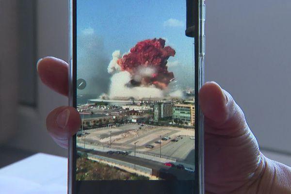 Double explosion meurtrière à Beyrouth.