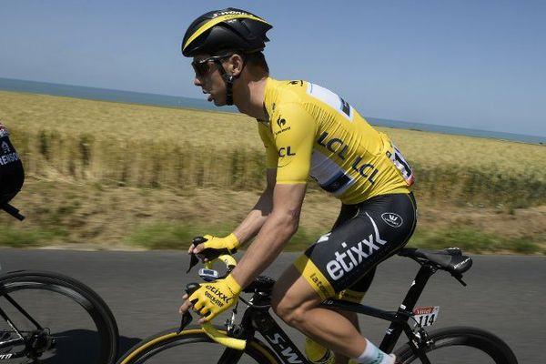 Tony Martin qui a abandonné après une blessure sur le Tour de France sera le grand favori du TPC 2015.