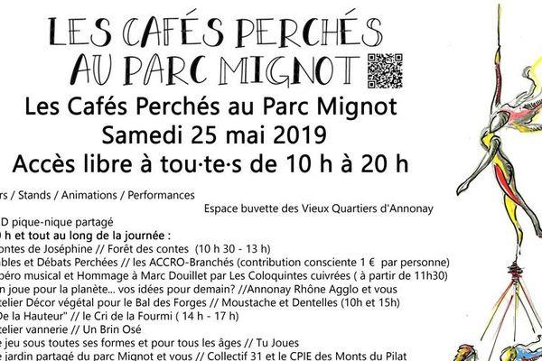 Le programme des cafés perchés à Annonay (Ardèche)