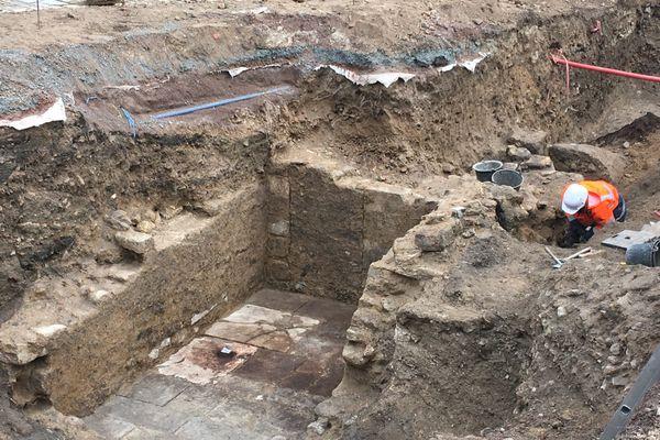 La présence du tombeau de Nicolas Rollin confirmée sur le chantier d'extension du musée d'Autun