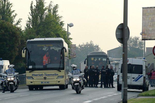 400 migrants avaient déjà été évacués d'un gymnase de Grande-Synthe le 24 mai 2018