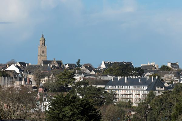 La ville d'Auray