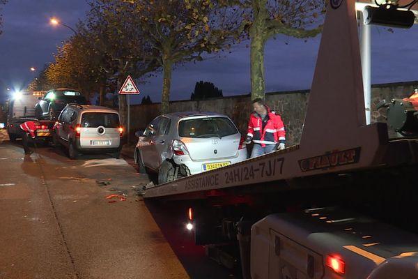 Un piéton mortellement blessé à Limoges au niveau du cimetière Louyat