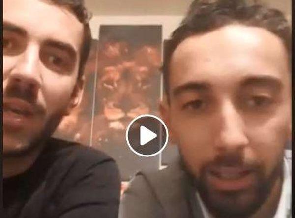 """Cédric Trivella et Julien Terrier / capture d'écran Facebook """"Mouvement National Contre La Hausse Des Taxes (Grenoble)"""""""
