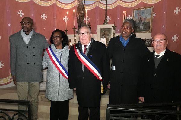 Une cérémonie a honoré la mémoire des soldats antillais oubliés de l'histoire ce lundi 11 novembre à Fleury-devant-Douaumont dans la Meuse, près de Verdun
