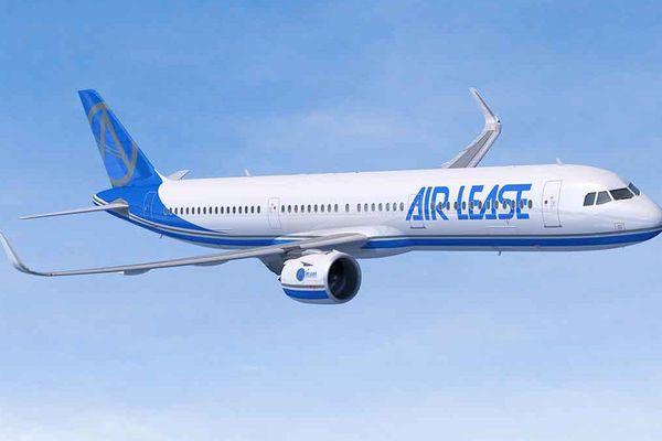 L'A321neo aux couleurs d'Air Lease.
