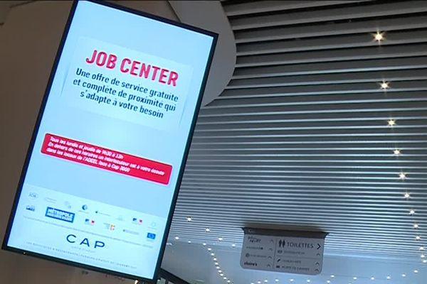 Job Center est opérationnel depuis un mois.