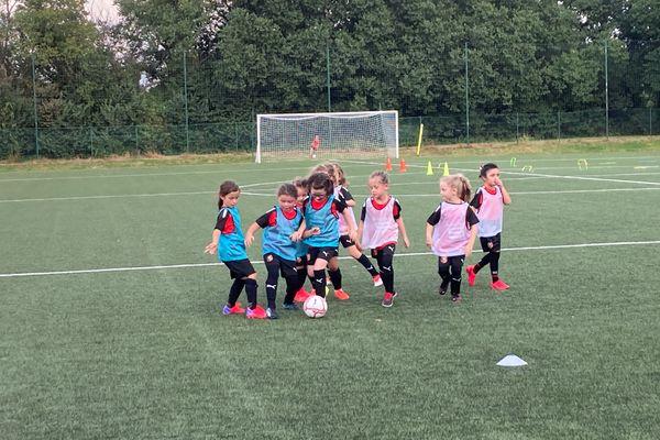 Des petites graines de championnes pour la première section féminine du Stade Rennais FC.