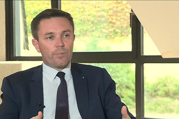 David Lappartient, candidat à la présidence de l'Union cycliste internationale