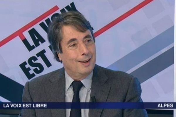"""Michel Destot, invité de """"La Voix Est Libre"""" sur France 3 Alpes"""