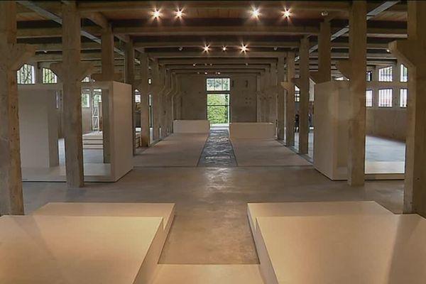 L'artistes Wesley Meuris expose jusqu'au 26 novembre 2017 dans la Grande Halle des Tanneries