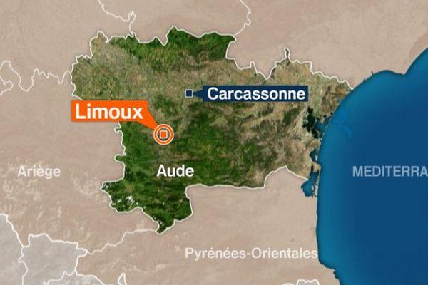 Limoux dans l'Aude.