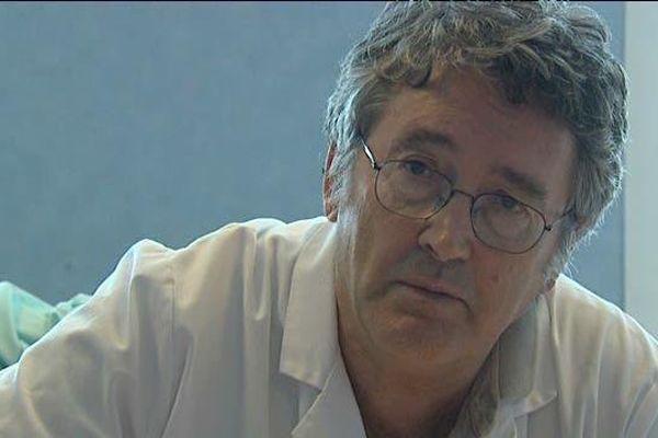 Gilles Grollier a longtemps été le chef du service de cardiologie du CHU de Caen