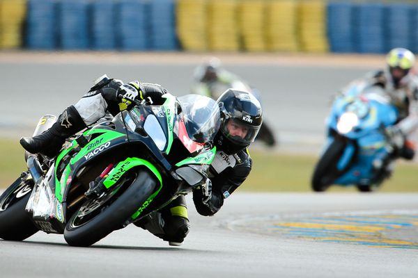 24 h du Mans, Team #3 (Aube) A.M.Moto Racing