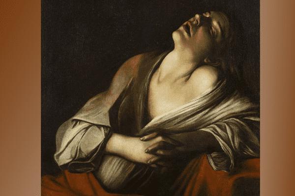 """""""Madeleine en extase"""" : une oeuvre attribuée à Finson, mais peut-être du Caravage"""