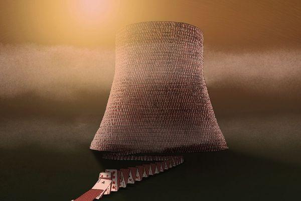 Comme une partie de poker menteur : les cartes de la centrale nucléaire rebattues