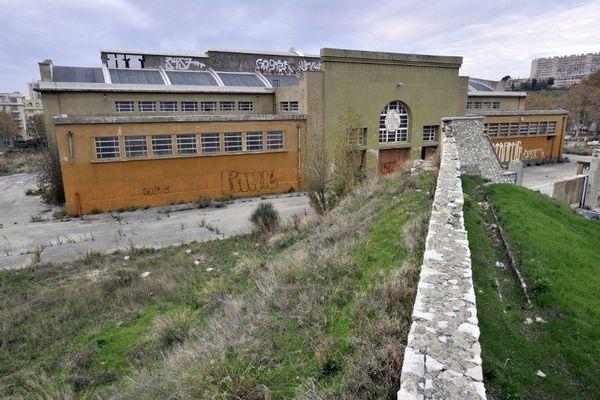 terrain des anciens abattoirs de Marseille où doit être construite la mosquée