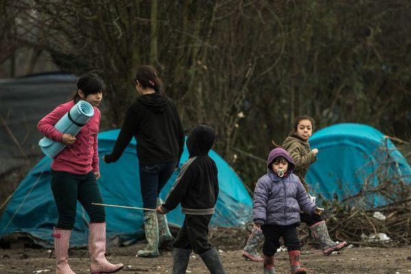 Archive. Enfants migrants à Grande-Synthe.