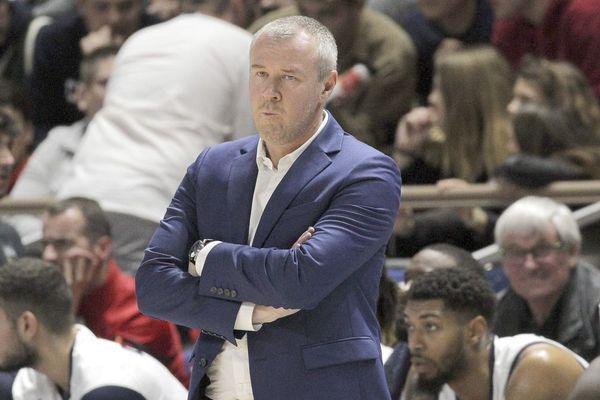 Laurent Legname, coach de la JDA Dijon Basket