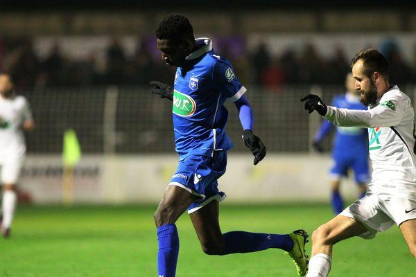 L'ACFC Angoulême a battu l'AJ Auxerre 1 but à 0.
