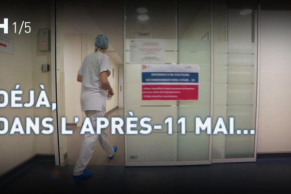 Ce lundi 11 mai 2020, date du début du déconfinement, France 3 Auvergne-Rhône-Alpes vous propose une série de reportages au sein du centre hospitalier de Montélimar dans la Drôme.